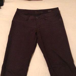 """DL1961 Jeans - DL1961 Emma legging in """"geode"""" oxblood red color"""